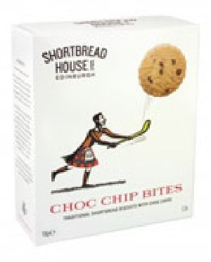 Shortbread Biscuits with Choc chip Bites