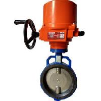 Industrial Motorized Operated Butterfly Valve