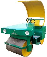 Cricket Pitch Petrol Cum Electric Roller (2 Ton Capacity)