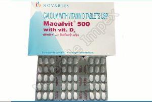 Macalvit 500 Tablets