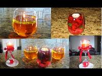 Homemade Floating Candles