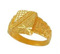 Gents Gold Ring 01