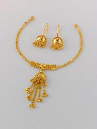 Gold Necklace Set 03