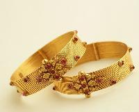 Gold Bangles 03