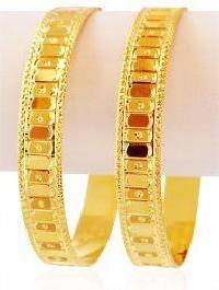 Gold Bangles 04