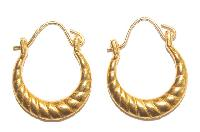 Gold Earrings 01
