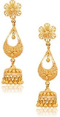 Gold Earrings 02