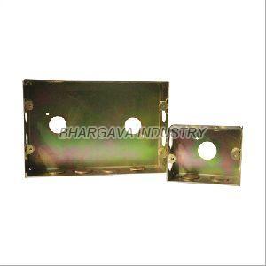 Yellow Polish Zinc Coated Modular Box