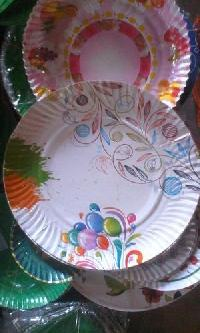 Coloured Disposable Plate 02