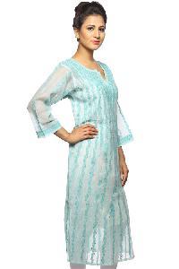Ladies Lucknowi Anarkali Kurti (002)