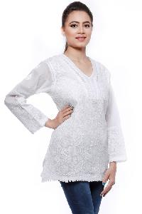 Ladies Lucknowi Short Kurti (000021)