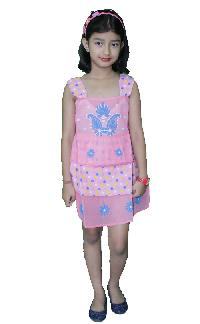 Girls Cotton Frock  (22)