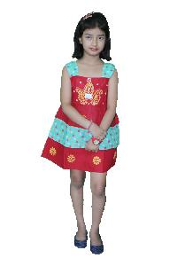 Girls Cotton Frock  (24)