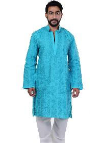 Mens Lucknowi Long Kurta (10255)