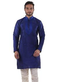 Mens Lucknowi Long Kurta (20016)