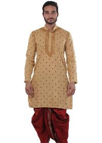 Mens Lucknowi Long Kurta (20017)