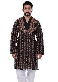 Mens Lucknowi Long Kurta (20020)