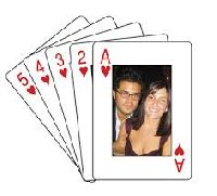 customized playing card