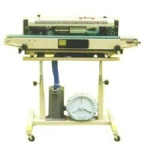 Band Sealer Gas Filling Machine
