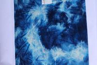 Blue & White Cloud Fiber Sheets
