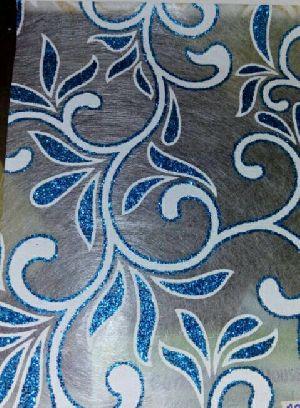 Blue White Leaf