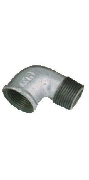 Malleable Galvanized Iron Male Female Elbow
