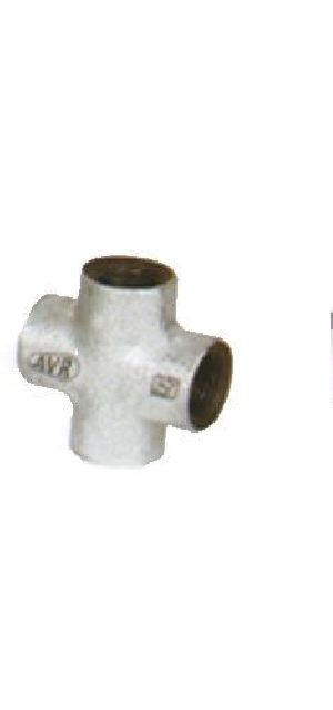Malleable Galvanized Pipe Cross