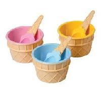 ice cream plastic cup