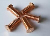 Steel & Copper Plated External Threaded CD Stud