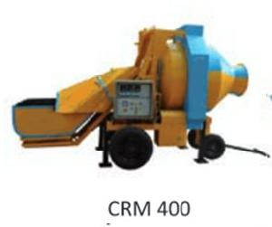 CRM 400 Reversible Concrete Mixer