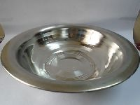 Stainless Steel Besan Bowl