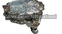 Silver Coated Chowki 05