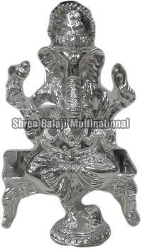 Silver Statue Ganesha