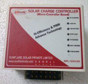12V/24V Solar Charge Controller