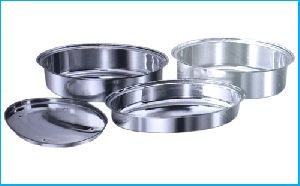 SS BOWLS and PLATES FOR CASSEROLES
