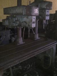 Used Gang Drilling Machine