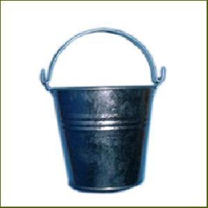 Buckets Galvanised Steel