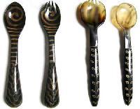 Horn Cutlery Set 03
