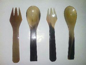 Horn Cutlery Set  07