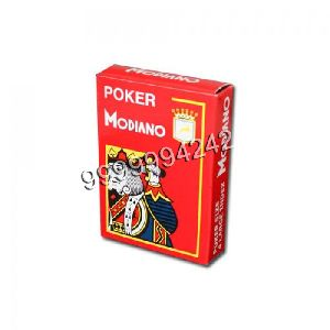 Modiano Cristallo Four PIP Playing Cards
