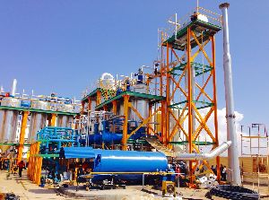 WASTE OIL RE-REFINING PLANT WITH ALL ACCESSORIES