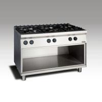 Gas Open Burner w/open cabinet NGTR 12 - 90 6F GR