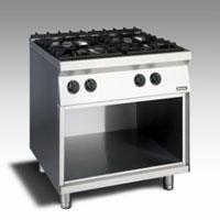 Gas Open Burner w/open cabinet NGTR 8 - 90 4F GR