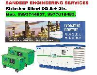 Silent Diesel Generator Set 06