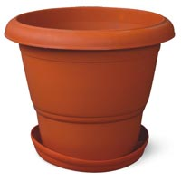 Plastic Lotus Flower Pot