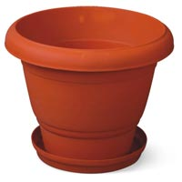 Plastic Rose Flower Pot