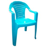 Round Back Corporate Plastic Chair