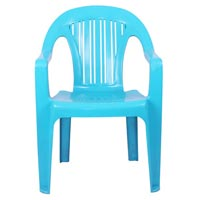 Straight Back Corporate Plastic Chair