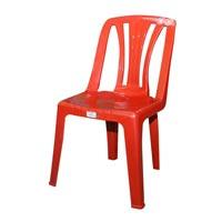 Straight Back Magic Plastic Chair