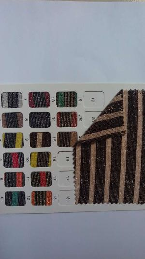 YS1006 Metallic Stripe Fabric